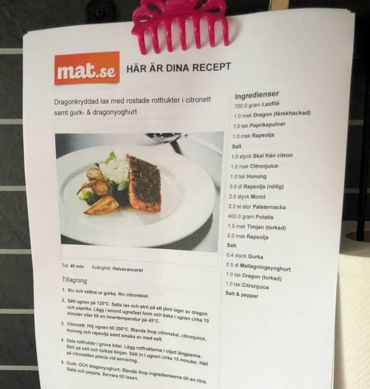 recept från mat.se