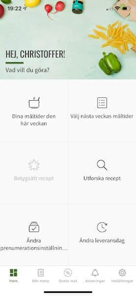 hellofresh app